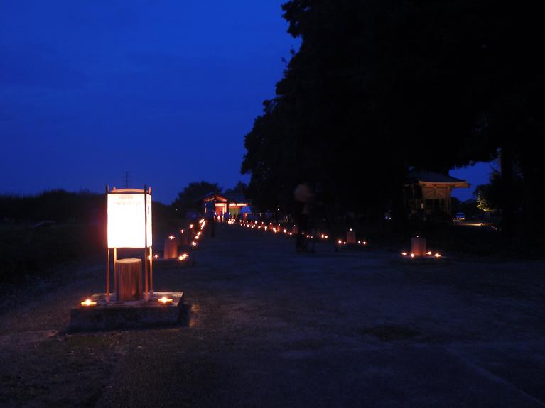 エゴマ灯明会