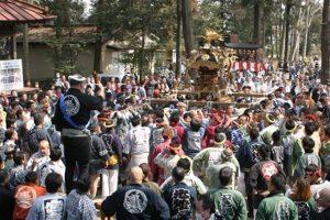 石橋愛宕神社八坂祭